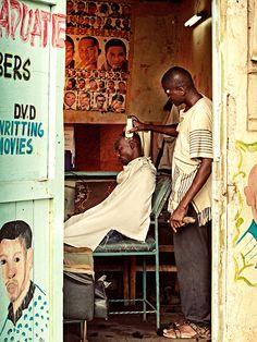 Kenyan barbershop