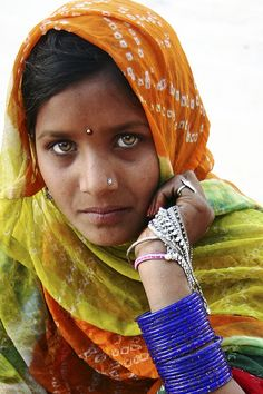 A common woman in rural #India. Any captions for her?