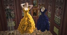 Ove's sims - Bioshock Infinite Dress Form Recolors and Gown Conversion