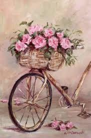 Resultado de imagem para bicicleta com flores e frases