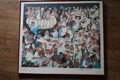Jovan Obican HAND SIGNED Celebration Framed Art Print 23 x26 Art For Sale, Framed Art Prints, Celebration, Signs, Store, Painting, Ebay, Novelty Signs, Larger