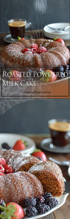 Roasted powdered milk cake for the special one this Mother's day