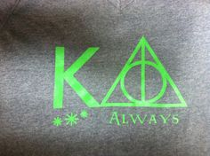 Kappa Delta Always - Mixing my love of my sisters with my love of Harry. :)