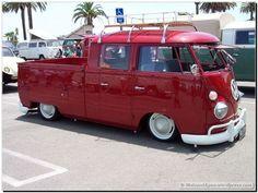 VW van - Double Cabin