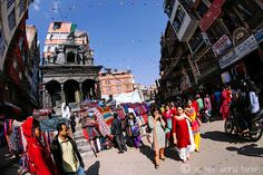Bustling Durbar Square in Kathmandu, Nepal -- READ MORE: http://www.asherworldturns.com/bustling-durbar-square/