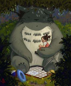 My Neighbour Totoro by BTANK