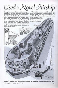 1930 ... gyro- airship! | Flickr - Photo Sharing!