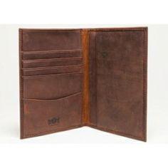 Avallone Antique Leather Passport Holder