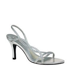 Touch Ups by Benjamin Walk Women's Randi Shoes Synthetic Silver