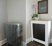 Radiators can be a space suck and an eye sore, but you can easily transform your radiator from drab to fab with a few mixed materials, Elmer's ProBond Advanced, and Elmer's Carpenter's Interior Wood Glue.