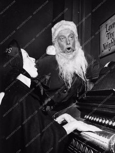 photo Art Carney Santa Claus TV The Twilight Zone Night of the Meek 3518-24