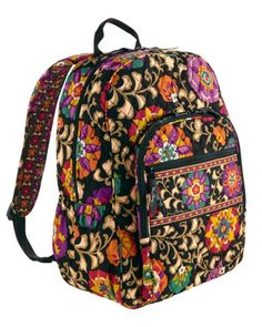 Campus Size Vera Bradley backpack. Big enough for LOTS of books! My backpack  for e12a5ea66c