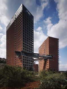 """Apartment Towers """"Wienerberg City"""" - Picture gallery"""