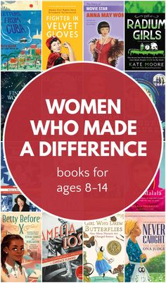 Best selection of middle grade books for Women's History Month and every other month of the year. Learn about women who changed history. Best Toddler Books, Best Children Books, Best Books List, Book Lists, Read Aloud Books, Children's Books, Grade Books, Middle Schoolers, Women's History