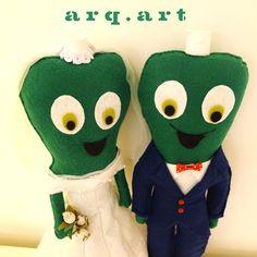 ...casal de noivos da Dolly...para o cha bar de um casal apaixonado por esse guarana...