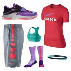 Basketball jersey, nike outfits, summer outfits, fashion outfits, sport out Sporty Outfits, Nike Outfits, Athletic Outfits, Summer Outfits, Fashion Outfits, Athletic Fashion, Athletic Wear, Athletic Shorts, School Outfits