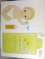 Baby paper dolls 137