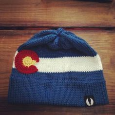 Your place to buy and sell all things handmade Mountain Hat, Knit Beanie, Spring Time, Knit Crochet, Colorado, Arts And Crafts, Flag, Knitting, Trending Outfits