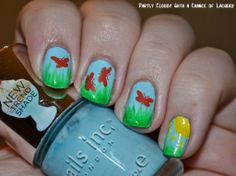 Partly Cloudy With a Chance of Lacquer: FingerFood's Theme Buffet Week 21 - Nature
