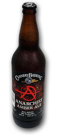 Cannery Brewing Anarchist Amber Ale