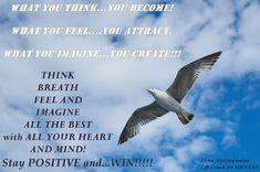 Elena - Life Coaching for SUCCESS:  Πόσο σημαντικός είναι στην πραγματικότητα,ο τρόπος που σκεφτόμαστε? Καθοδηγούν οι σκέψεις μας την ευτυχία ή την δυστυχίας μας;...