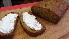Carrot Zucchini Breadsub: xyla for sugar, use coconut oil, egg whites