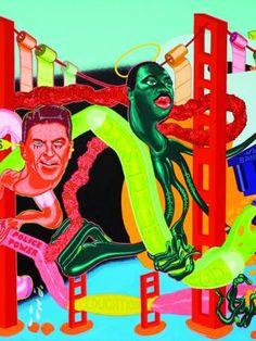 Peter Saul - Reviews - Art in America