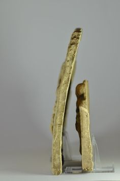 Greek pinax 1 and Greek pinax 2 sides,  pinax1 is more arched than pinax 2.