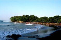 foto wisata pantai pangandaran