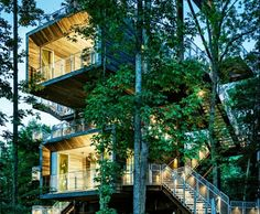Wild, Adventurous Treehouse Teaches Boy Scouts About Sustainability | Inhabitat - Sustainable Design Innovation, Eco Architecture, Green Bui...