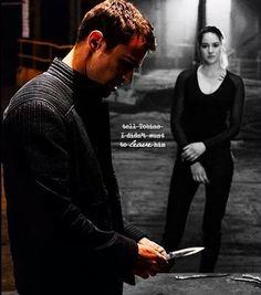 *Allegiant Spoiler* Tobias and Tris // Divergent - Insurgent - Allegiant //
