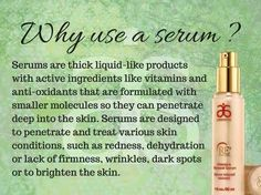 "If you haven't thought of using a serum, now's the time. ""Like"" my FB page at Surshae Arbonne Independent Consultant. Consultant ID: 21565488"