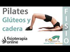 Pilates para tonificar glúteos, caderas y piernas - YouTube