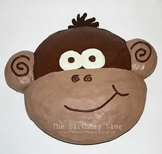 Monkey Cake - Not JUST A Housewife