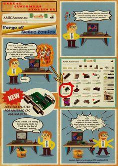 Joystick Splitter for Amstrad CPC For Amstrad CPC computers. Joystick Splitter for Amstrad & Models. Connect two joysticks to the joystick port of your Amstrad CPC. Support for 3 Fire Button. Computers, Connection, Fire, Models, Play, Button, Retro, Products, Self