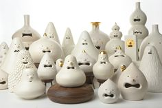 Artifacts Series, 2013 Porcelain -collaboration with Cho Yonghyun and Bak Gwon