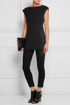 Rick Owens | Stretch-poplin top | NET-A-PORTER.COM