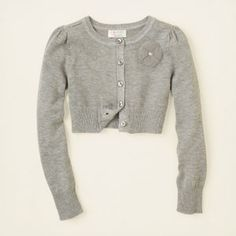 girl - glitter ruffle cardigan sweater | Children's Clothing ...