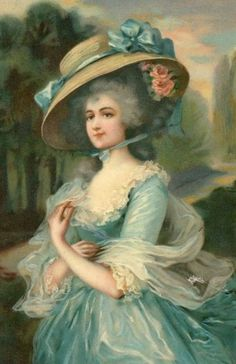bumble button: Marie Antoinette