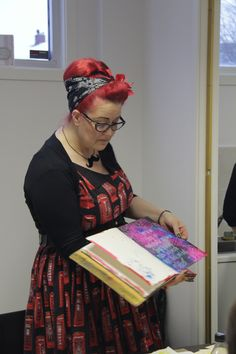 Dyan Reaveley at HOBBYKUNST november 2012