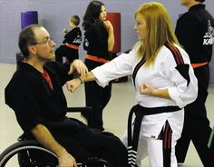 Criptaedo Instructor Paul Brailer Teaches Adaptive Martial Arts for Self-Defense and Exercise for People with Disabilities