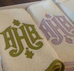 Modern, handcrafted linens for every room and occasion. Leontine Linens specializes in custom linens for bed, bath and table since Leontine Linens, Applique Towels, Bedroom 2017, Embroidery Monogram, Monogram Design, Hand Towels, Machine Embroidery, Monograms, Typography