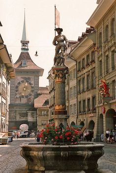 In Bern, Switzerland.spent my junior year of college in Fribourg Switzerland very close to Bern. Wonderful Places, Great Places, Places To See, Beautiful Places, Places Around The World, Travel Around The World, Around The Worlds, Dream Vacations, Vacation Spots