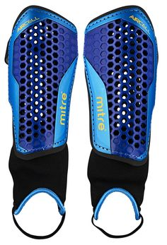 Mitre Aircell Carbon Shinguards: Amazon.co.uk: Sports & Outdoors