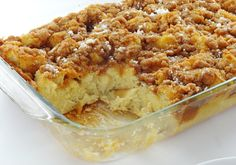 Cinnamon Brown Sugar French Toast Casserole
