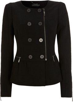 Black Jacquard Jacket • Mint Velvet • £39.00