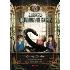 Buy A Series of Unfortunate Events by Lemony Snicket at Mighty Ape NZ. NOW A NETFLIX ORIGINAL SERIES Violet, Klaus, and Sunny Baudelaire are intelligent children. They are charming, and resourceful, and have pleasant fac. Unfortunate Events Books, A Series Of Unfortunate Events Netflix, Got Books, Books To Read, Lemony Snicket Books, Les Orphelins Baudelaire, Baudelaire Children, Reptile Room, Netflix Original Series