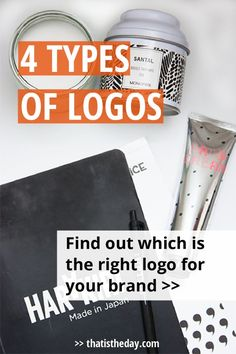 Why are some logos so successful? Learn about the different types of logos, so you can decide which type is the right fit for your brand | http://thatistheday.com