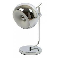 lámpara sobremesa Ball cromada   Tiendas On