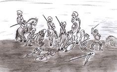 Batalla de caballeros